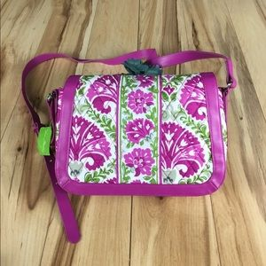 Vera Bradley Crosstown Crossbody Julep Tulip purse